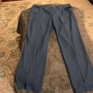 Iman elastic waist pants 2X long wide leg